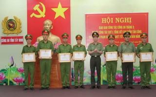 Công an Tây Ninh: Tổng kết cao điểm tấn công trấn áp tội phạm, đảm bảo ANTT Tết Nguyên đán 2017