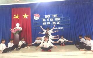 """Hội thi """"Dân vũ học đường"""" huyện Dương Minh Châu"""