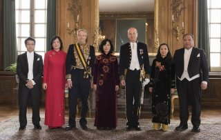 Đại sứ Việt Nam tại Thụy Điển trình Quốc thư