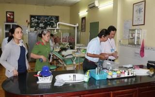 Kiểm tra hành nghề y dược tư nhân tại thành phố Tây Ninh