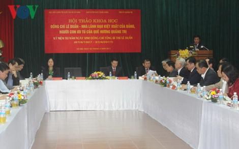 Tổng Bí thư Lê Duẩn - một nhân cách cộng sản mẫu mực