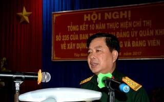 Trung đoàn 4: Tổng kết 10 năm thực hiện Chỉ thị 235 về xây dựng tổ chức Đảng và đảng viên