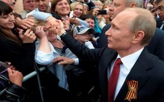 82% người dân Nga hài lòng về Tổng thống Putin