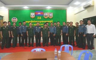 Tây Ninh: Thăm, chúc Tết lực lượng quân đội tỉnh Prey Veng