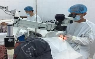 Bệnh viện Nguyễn Trãi TP.HCM:  Mổ mắt miễn phí cho người nghèo Châu Thành