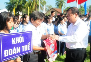 Khai mạc Đại hội Thể dục thể thao điểm tỉnh Tây Ninh