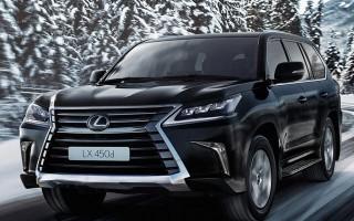 Lexus LX450d ra mắt, giá 7 tỷ đồng
