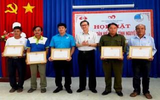 Châu Thành: Tôn vinh người hiến máu tình nguyện