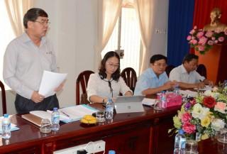 HĐND tỉnh làm việc với Sở Giáo dục và Đào tạo