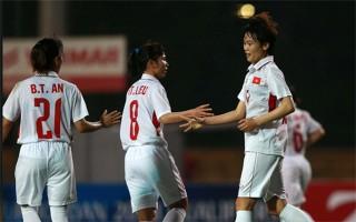Việt Nam ngược dòng đại thắng Iran ở vòng loại Asian Cup nữ 2018