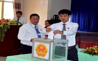 Bầu nhân sự chủ chốt của thành phố Tây Ninh