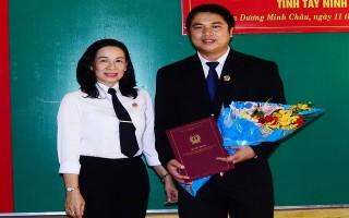 Bổ nhiệm Phó Chánh án TAND huyện Dương Minh Châu