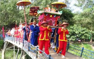 Tân Biên: Khai hội kỳ yên đền thờ quan lớn Trà Vong năm 2017