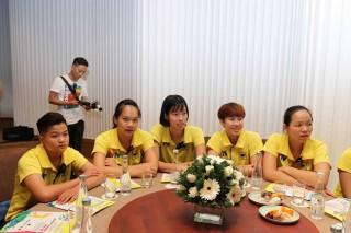 Phát hành vé 2 trận giao lưu chào mừng Giải bóng chuyền nữ quốc tế Cúp VTV 9- Bình Điền lần thứ XI