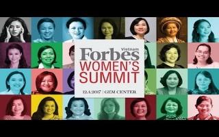 Vinh danh 50 phụ nữ ảnh hưởng nhất Việt Nam năm 2017
