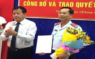 Bổ nhiệm Chánh thanh tra tỉnh Tây Ninh