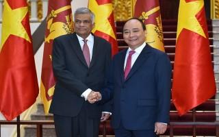 Một số hình ảnh Lễ đón chính thức Thủ tướng Sri Lanka
