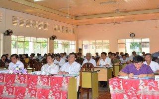 Tây Ninh: Khai giảng lớp tập huấn nghiệp vụ công tác kiểm tra, giám sát năm 2017