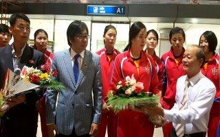 Đội tuyển 4.25 Triều Tiên đã có mặt tại Tây Ninh