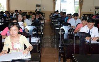 Khai mạc hội thi giáo viên chủ nhiệm giỏi cấp tỉnh