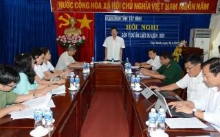 Đoàn ĐBQH đơn vị Tây Ninh: Lấy ý kiến đối với dự án Luật du lịch sửa đổi