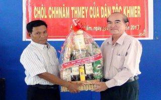 Lãnh đạo tỉnh chúc tết cổ truyền đồng bào dân tộc Khmer