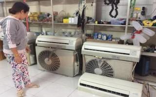 """Nắng nóng, máy lạnh """"nghĩa địa"""" hút hàng"""