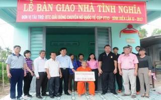 Tặng nhà tình nghĩa cho các gia đình chính sách ở Tây Ninh