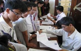 Thông tin cập nhật tỉ lệ thí sinh đăng ký dự thi, đăng ký xét tuyển