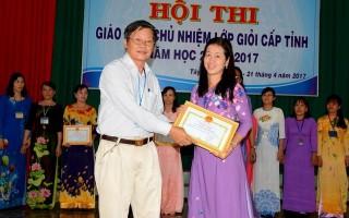 Công bố kết quả Hội thi giáo viên chủ nhiệm giỏi cấp tỉnh