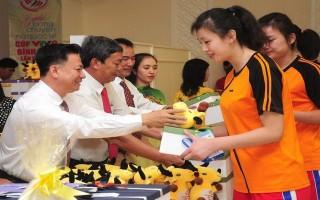 Tây Ninh: Tổ chức họp mặt các đội tham dự giải bóng chuyền nữ quốc tế VTV Bình Điền