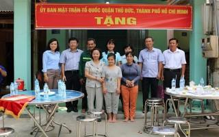 Bàn giao 6 căn nhà Đại đoàn kết cho hộ nghèo ở huyện Dương Minh Châu