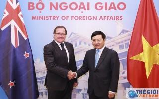 New Zealand cam kết hỗ trợ Việt Nam tổ chức thành công APEC 2017