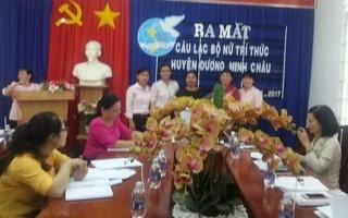 Ra mắt CLB Nữ trí thức huyện Dương Minh Châu