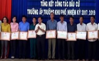 Huyện Dương Minh Châu: Tổng kết công tác bầu cử trưởng ấp, khu phố
