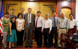 Giám đốc USAID Việt Nam tiếp kiến chào xã giao lãnh đạo UBND tỉnh Tây Ninh