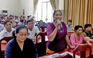 Đại biểu Quốc hội tiếp xúc cử tri huyện Châu Thành