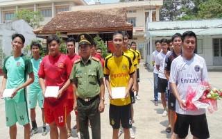 CA Châu Thành: Giao lưu bóng chuyền chào mừng ngày miền Nam giải phóng