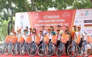 CLB Doanh nhân 2030: Trao 500 xe đạp cho học sinh Tây Ninh