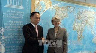 Giám đốc UNESCO dành cho Việt Nam tình cảm đặc biệt