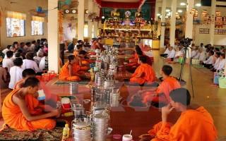 Đồng bào Khmer ở Sóc Trăng vui đón Tết Chol Chnam Thmay