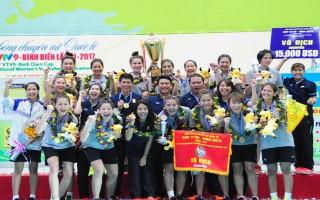 Bangkok Glass vô địch bóng chuyền nữ quốc tế Cúp VTV9 - Bình Điền 2017