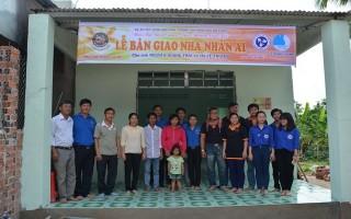 Tân Châu: Bàn giao nhà nhân ái cho hội viên thanh niên nghèo