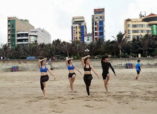 Taekwondo VN dự giải quyền thế giới ở bãi biển Hi Lạp