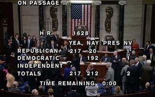 Nghị sĩ Dân chủ hát tạm biệt khi luật thay Obamacare được duyệt