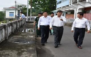 Kiểm tra hệ thống thuỷ lợi Dầu Tiếng - Phước Hoà trước mùa mưa lũ
