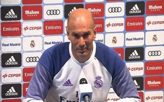 HLV Zidane để ngỏ khả năng chia tay Real