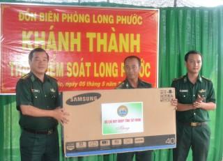 Khánh thành Trạm kiểm soát biên phòng Long Phước