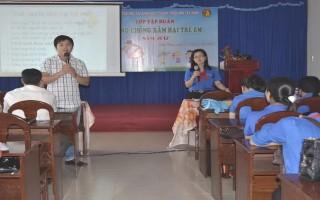 Tập huấn phòng chống xâm hại trẻ em