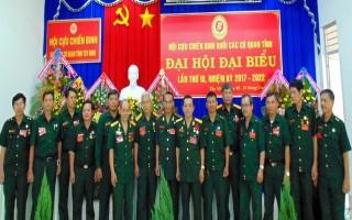 Đại hội CCB khối các cơ quan tỉnh nhiệm kỳ 2017-2022